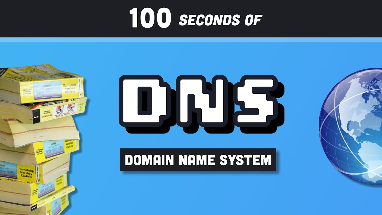 DNS Explained in 100 Seconds