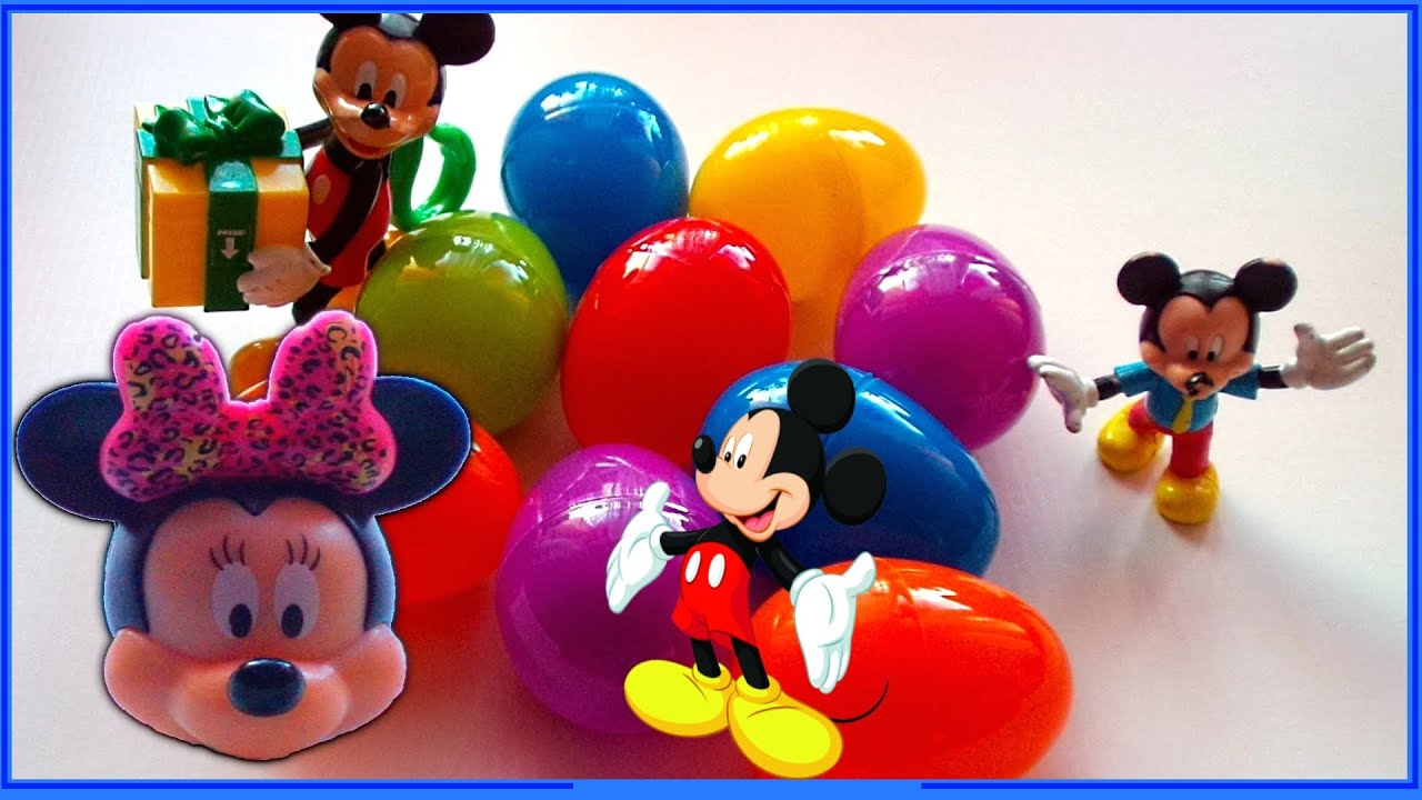 Surprise Mickey Mouse Clubhouse Surprise egg Surprise egg Minnie