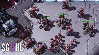 SpeCial's Massive Terran Contain - Starcraft 2: SpeCial vs. Has