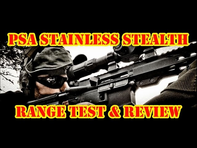 Palmetto State Armory Mid-length Stainless Stealth Freedom Upper Range Test!!