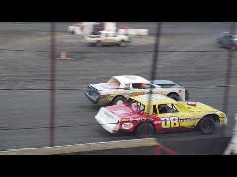 Macon speedway heat 1 8-26-18