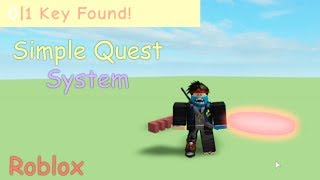 How To Make A Simple Quest System | Roblox