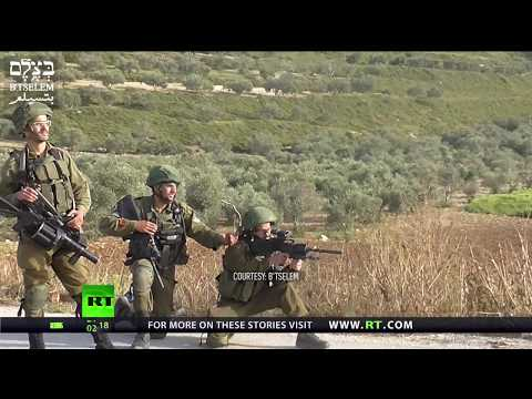 Video showing IDF soldiers cheering after shooting a Palestinian protester sparks outrage