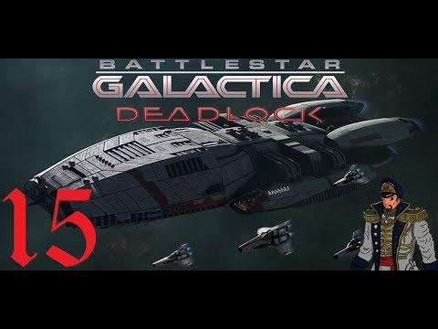 Recovering The Galactica | Battlestar Galactica Deadlock Gameplay #15