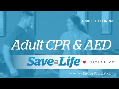 Adult CPR - CPR & AED for Adults (2018)