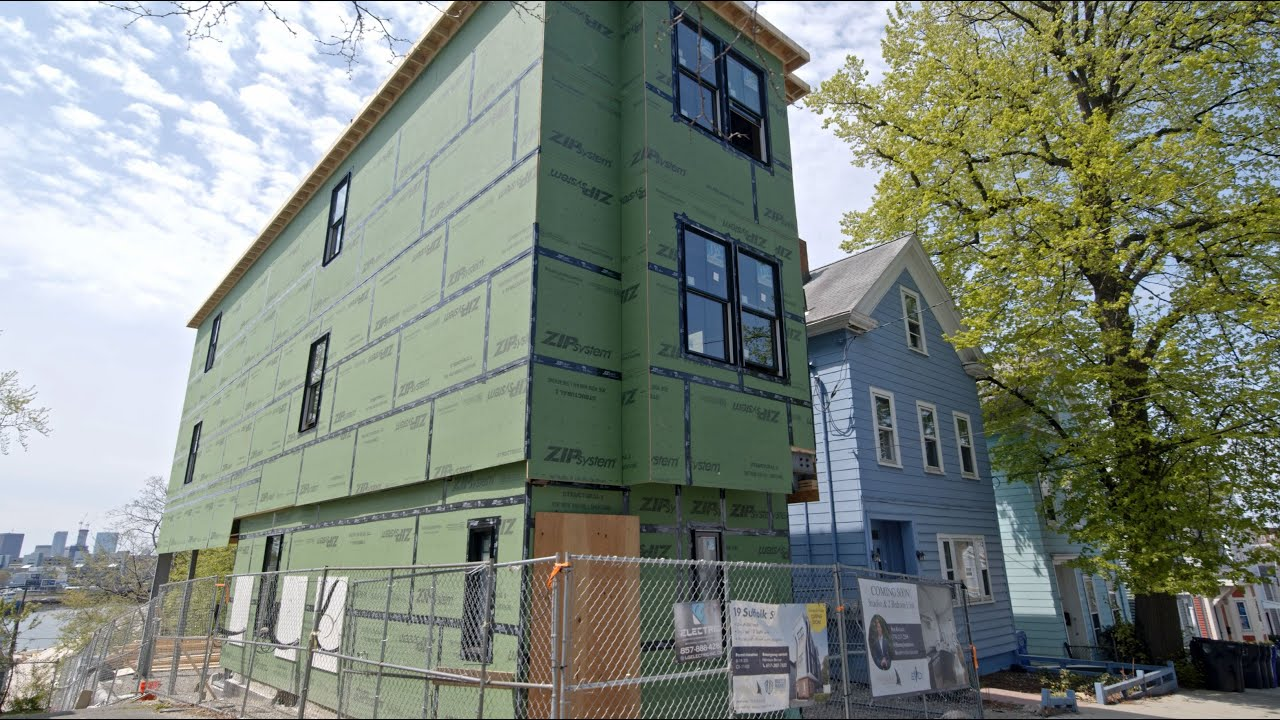 What new construction can you buy under 600k close to Boston?