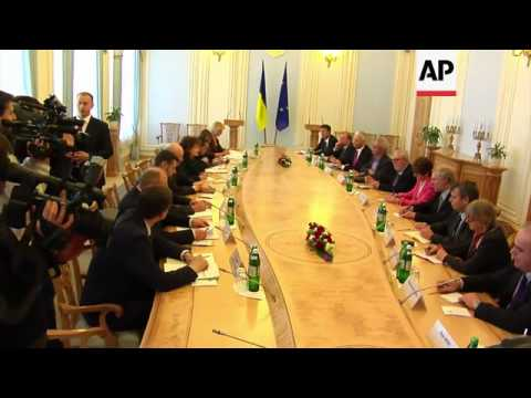 Turchynov meets senior Council of Europe official, Ban meets Steinmeier