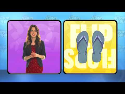 Austin & Ally   Laura Marano's This Or That Interview   Disney Channel UK