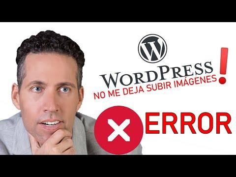 Solucionar problema en subida de imagenes en Wordpress