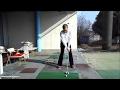 ゴルフ 9番アイアンの軽いスイング の動画、YouTube動画。