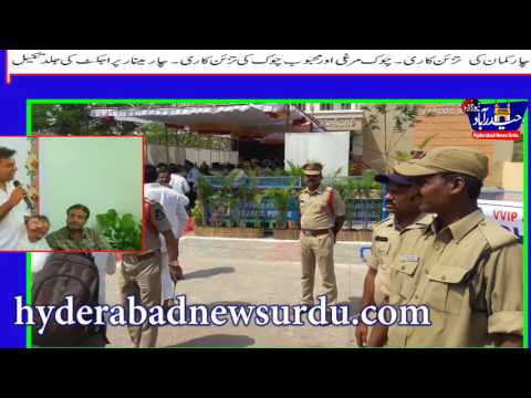 Asad owaisi & KTR Visits old city inaugrates Devlopement works