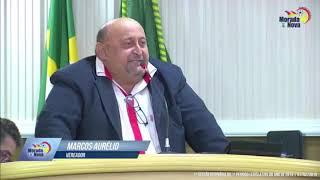 Marcos Aurelio pronunciamento 01 02 2019
