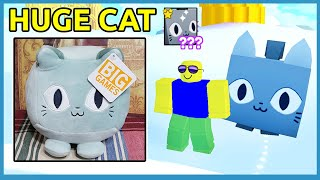 Rich Noob With Huge Cat Pet In Roblox Pet Simulator X