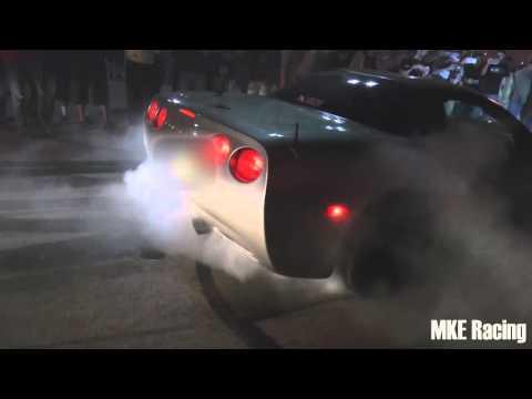 TX2K16 -  C5 Corvette Does a Monster Burnout!