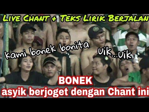 Bonek-bonita Asyik goyang di tribun dengan chant ini | Persebaya vs Bali United GBT Surabaya