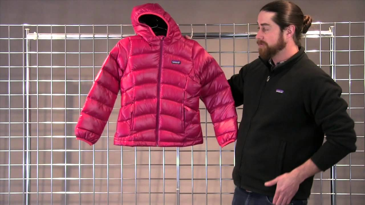 Patagonia Girls Hi Loft Down Sweater Hoody 2015 2016 Youtube