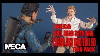 Evil Dead Hero Ash & Evil Ed | NECA 30th Anniversary Two-Pack Review #EvilDead