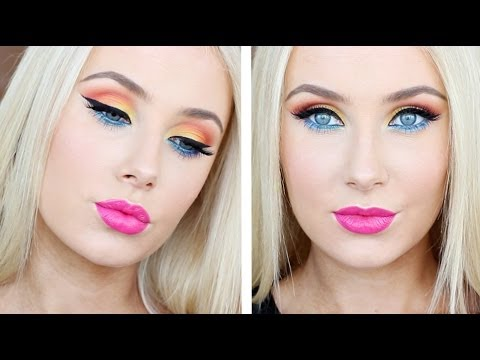 Bright & Colourful Makeup Tutorial!