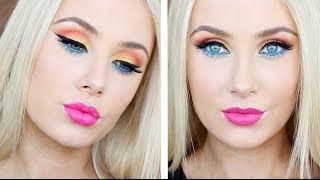 Bright & Colourful Makeup Tutorial! Thumbnail