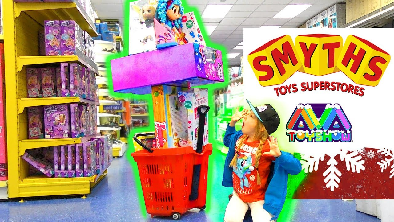 Smyths Superstores Christmas Toy Shopping Spree Youtube