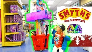 Smyths Superstores Christmas toy shopping spree