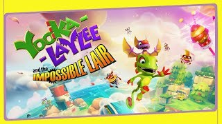 YOOKA-LAYLEE and the Impossible Lair - O Início de Gameplay!
