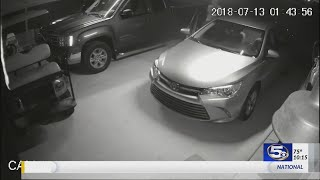Caught on camera: Men steal gun out of unlocked car in Theodore