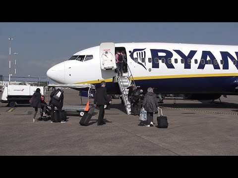 MY DEPARTURE TO BARCELONA FROM EAST-MIDLANDS AIRPORT UK