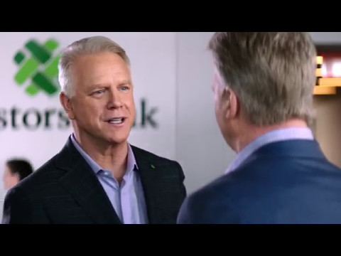 """Good in Green"" - Investors Bank Commercial with Phil Simms and Boomer Esiason"