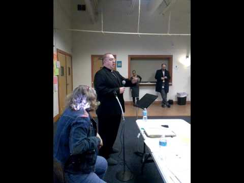 Rogers Park Community Forum on DevonSheridan Development  Bishop James Alan Wilkowski