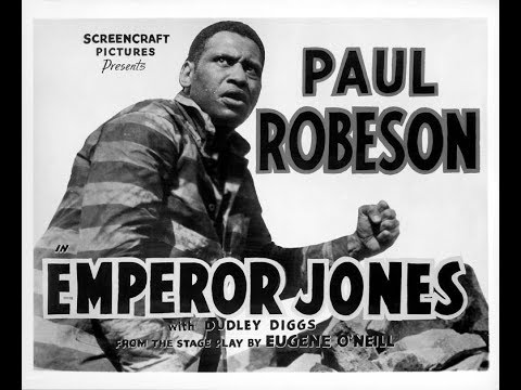 THE EMPORER JONES 1933 with PAUL ROBESON