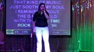 Bob Segar- Old Time Rock 'n' Roll karaoke performance