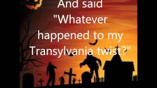 The Monster Mash with lyrics