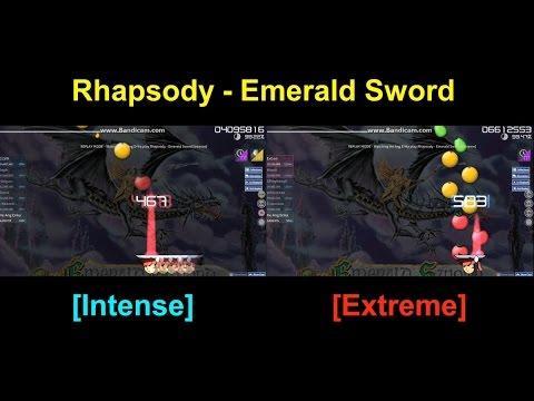 Double DT FC Rhapsody - Emerald Sword CTB He Ang Erika