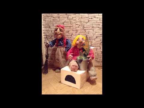 видео: МК Баба   Яга  своими руками   Емеля на печи  Куклы из Капрона