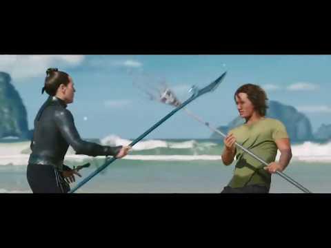 Aquaman: Master Vulko Power Move (Beach training with Orin/Arthur Curry)