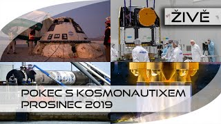 ŽIVĚ: Pokec s Kosmonautixem (prosinec 2019)