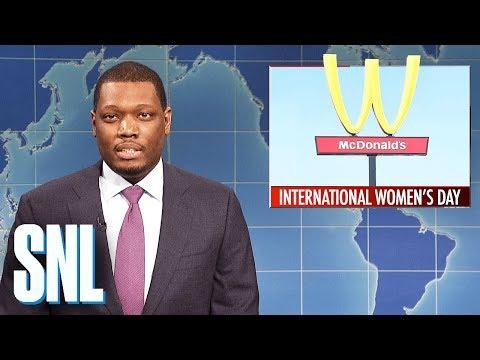 Weekend Update on International Women's Day 2018
