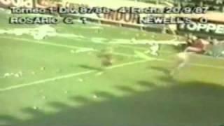 1987-88 - Campeonato Argentino - Fecha 04 - Sin Aliento 1 - 0 Newell