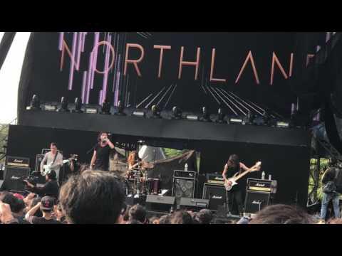 NORTHLANE - Quantum Flux (Live at HAMMERSONIC) rec by iPhone7+