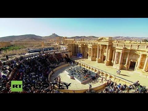 Putin's Palmyra concert shows he is winning the propaganda war