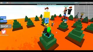 ROBLOX floor is lava normal with my freind 2018
