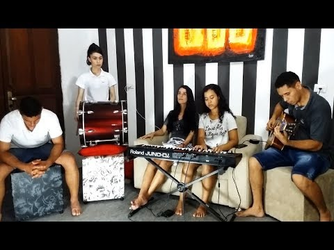 PRETO NO BRANCO - ME DEIXE AQUI  ft. Priscilla Alcantara | COVER