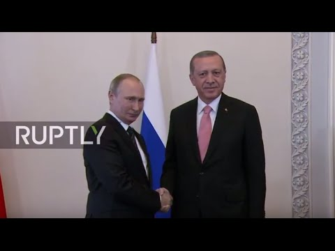 LIVE: Putin and Erdogan to hold joint press conference in St. Petersburg - ENGLISH