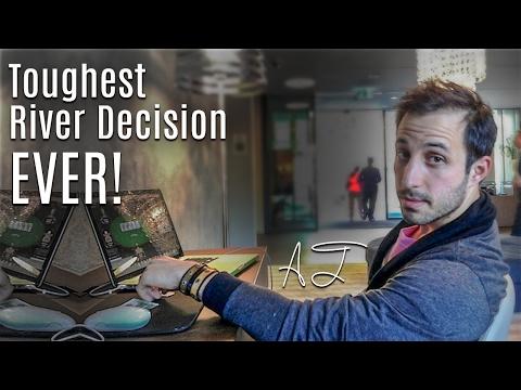Toughest River Decision EVER! (Aussie Millions Main Event)