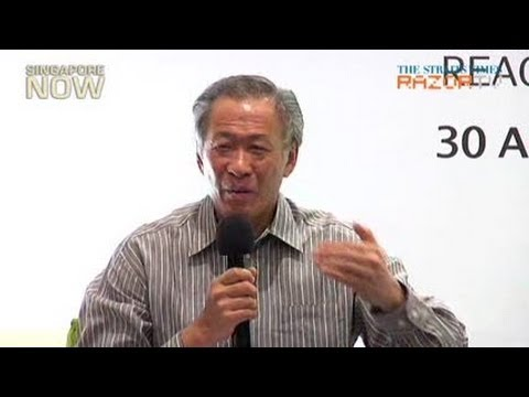 Ng Eng Hen: treat foreigners with dignity