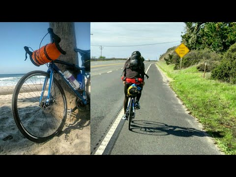 Solo Bike Tour, North to South of United States, West Coast
