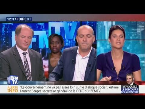"""Suivez """"BFM Politique"""" en direct, Laurent Berger invité à 12h et Thierry Solère à 13h"""