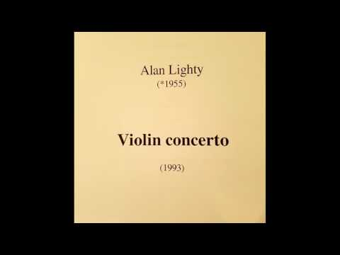 Violin Concerto - by Alan Lighty