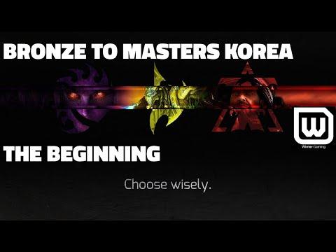 Bronze to Masters Korea! - Playing Random (Terran, Zerg, Protoss) Live Gameplay - Bronze 1 to Gold 3
